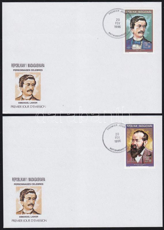 Anniveraries and events 2 stamps from the same set 2 FDC, Évfordulók és események 2 bélyeg ugyanabból a sorból 2 FDC, Jahrestage und Ereignisse 2 Marken aus gleichem Satz 2 FDC