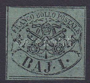 Roman States (thin paper) Egyházi állam (kis papírelvékonyodás)