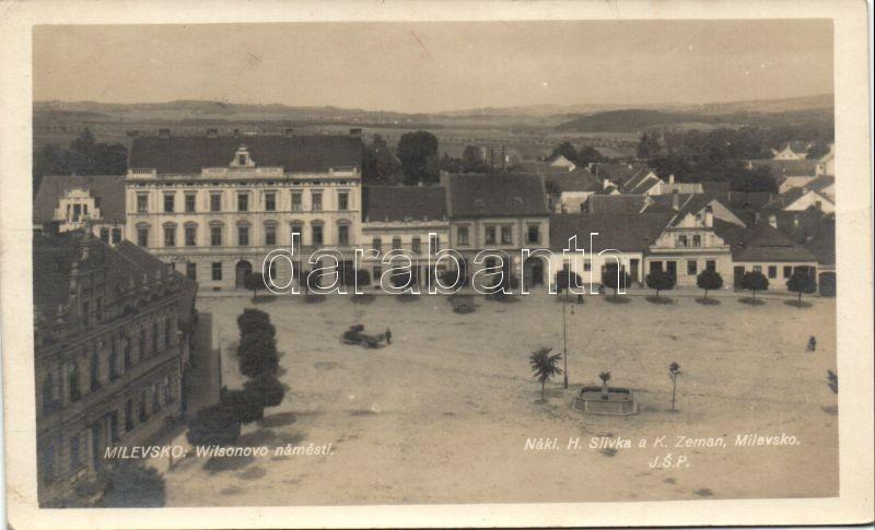 Milevsko, Wilsonovo námesti / square