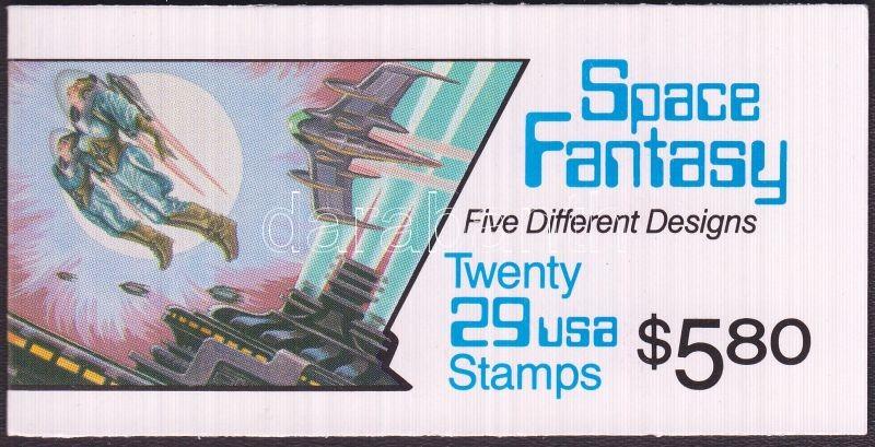 Space fantasy stamp booklet (Mi 2337-2341), Tudományos fantasztikum bélyegfüzet (Mi 2337-2341), Science Fiction Markenheftchen (Mi 2337-2341)