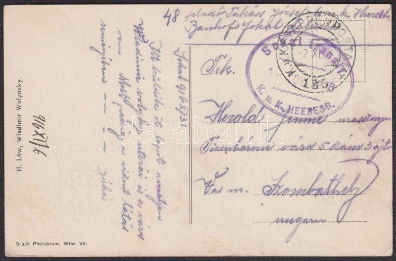 Wladimir Wolynsky postcard