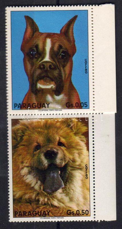 Dogs margin stripe of 8, Kutyák ívszéli nyolcascsík, Hunde Achterstreifen mit Rand