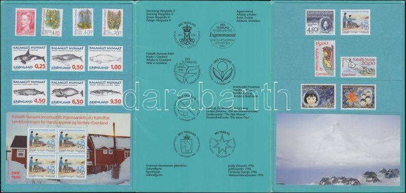 Évkönyv (2 érték kivételével Mi 281-282 teljes évfolyam) Year Book (whole year, except for Mi 281-282)