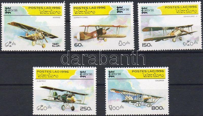 Aircaft, CAPEX stamp exhibition set, Repülők, CAPEX bélyegkiállítás sor