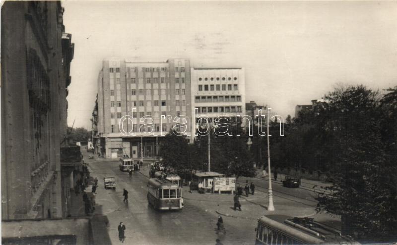 Belgrade with tram