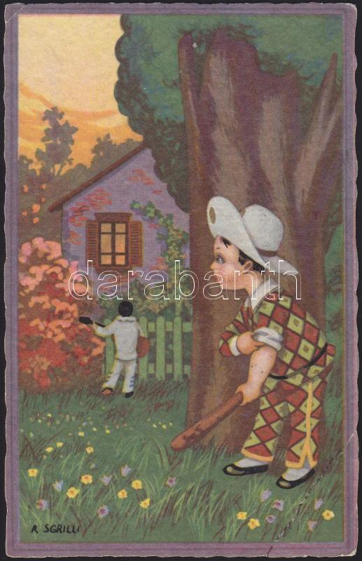 Serenade, humor s: R. Sgrilli, Szerenád, humor s: R. Sgrilli