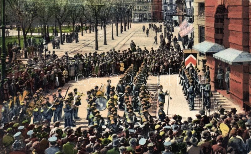 Strasbourg military parade