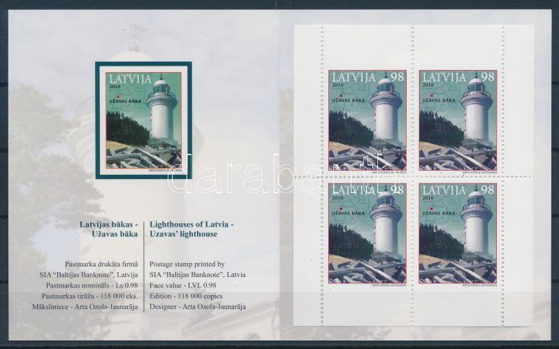 Lighthouses stamp booklet Leuchttürme Markenheftchen Világítótornyok bélyegfüzet