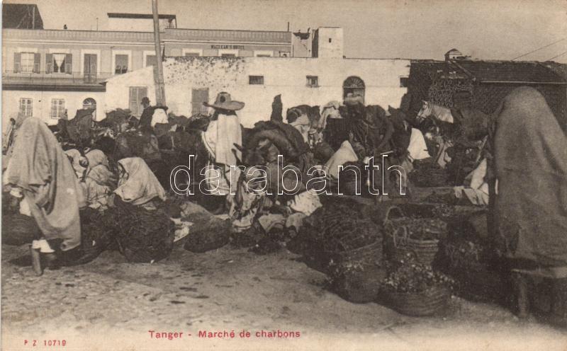 Tanger coal market, folklore