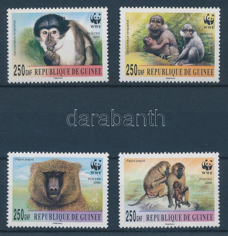 WWF Monkeys set WWF Affen Satz WWF Majmok sor