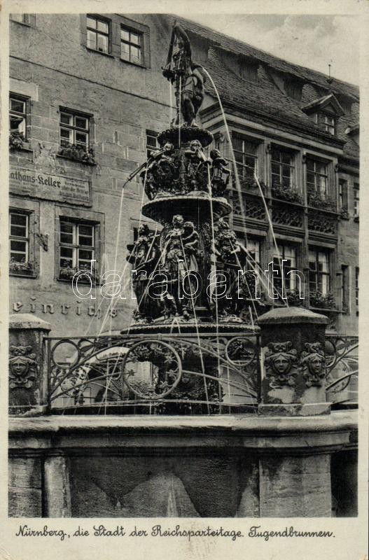 Nürnberg, Rathauskeller, Jugendbrunnen fountain