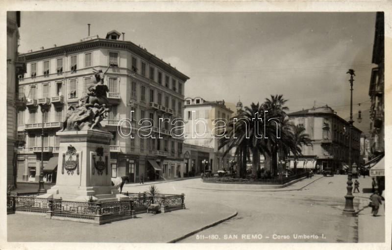 San Remo Corso Umberto I