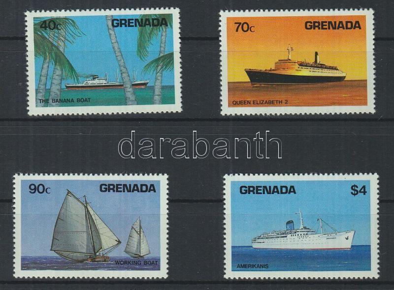 Ships set Schiffe Satz Hajók sor