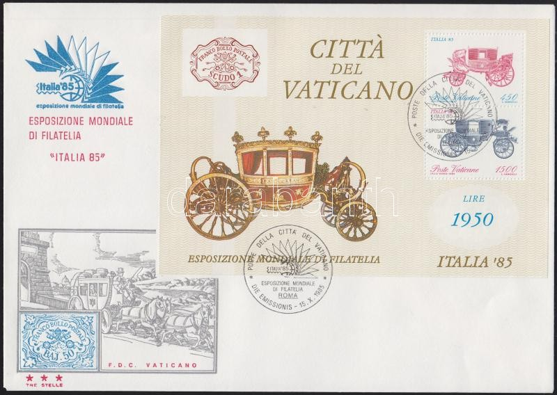 1982-1989 8 different blocks on FDCs 1982-1989 8 klf blokk FDC-n