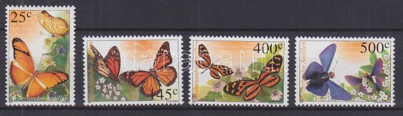 Butterflies set Schmetterlinge Satz Lepkék sor