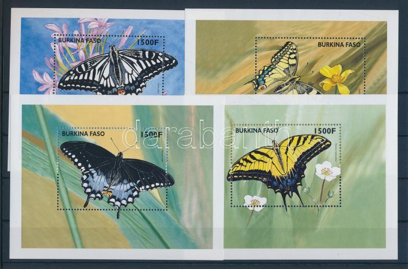 Butterflies block set Schmetterlinge Blocksatz Lepkék blokksor