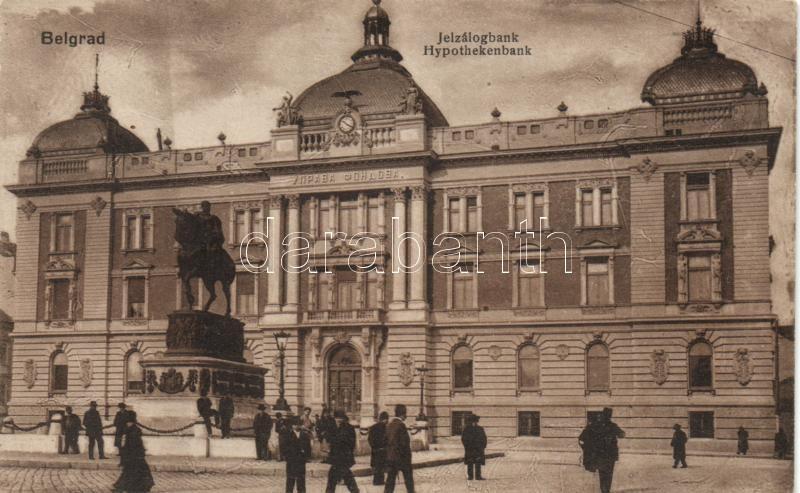 Belgrade, Jelzálogbank / Hypothekenbank / mortgage bank