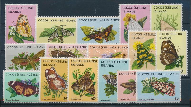 1982/1983 Lepkék sor 1982/1983 Schmetterlinge Satz 1982/1983 Butterflies set