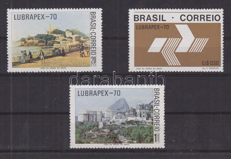 Lubrapex bélyegkiállítás sor Portugiesisch-brasilianische Briefmarkenausstellung LUBRAPEX '70 Satz Lubrapex stamp exhibition set
