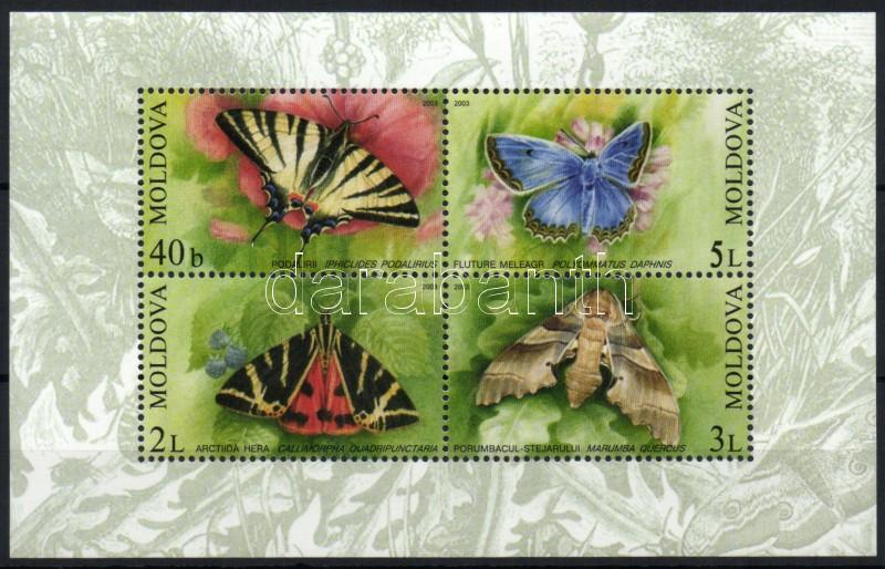 Butterflies block Schmetterlinge Block Lepkék blokk