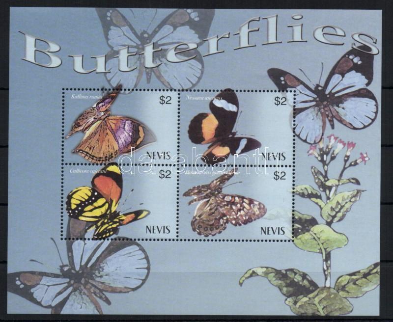 Butterflies mini-sheet Lepkék kisív