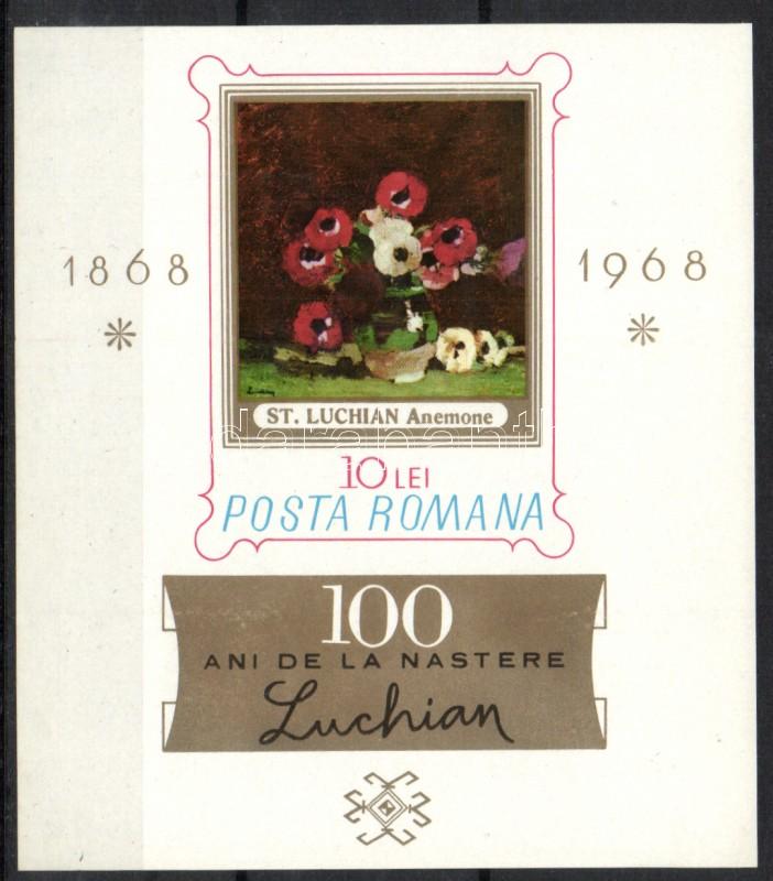 100th anniversary of Stefan Luchian's birth Stefan Luchian születésének 100. évfordulója