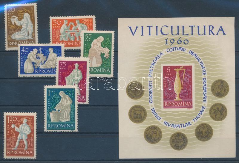 Viniculture set Szőlőművelés sor