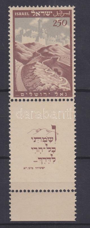 Constituent assembly stamp with tab Konstituierende Versammlung Marke mit Tab Alkotmányozó nemzetgyűlés tabos bélyeg