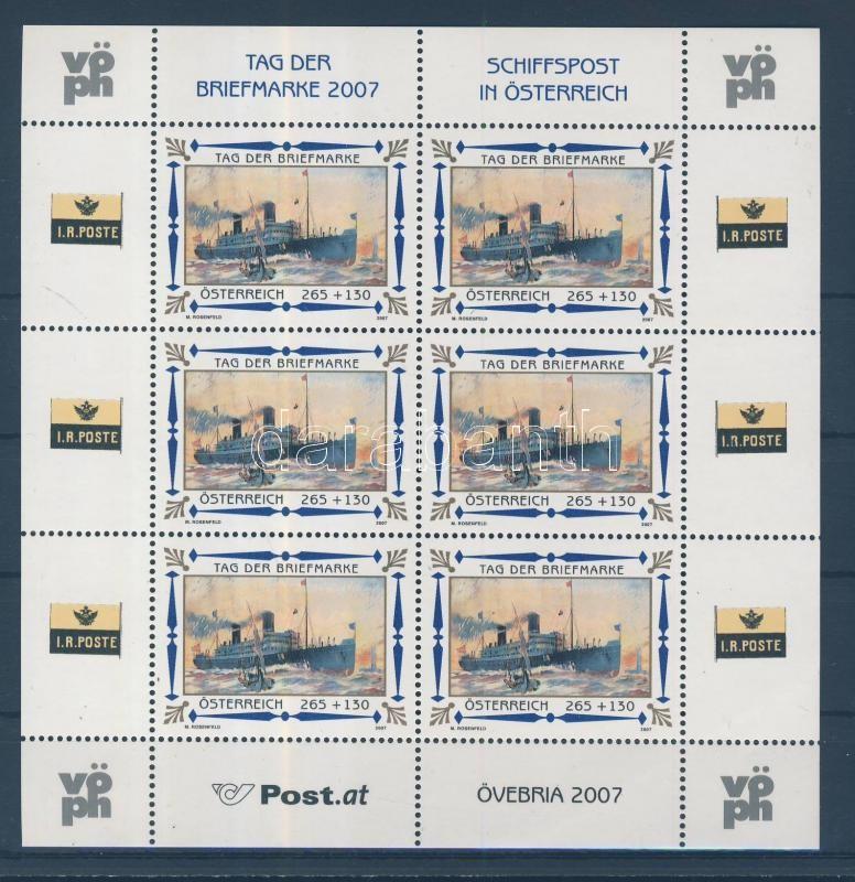 Day of stamps minisheet Tag der Briefmarke Kleinbogen Bélyegnap kisív