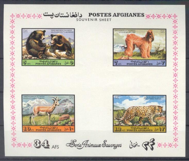Fauna: Emlősállatok blokk Fauna: Mammals block