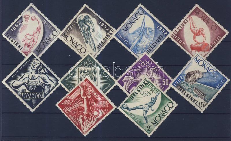 Summer Olympics 1952, Helsinki set Nyári olimpia 1952, Helsinki sor