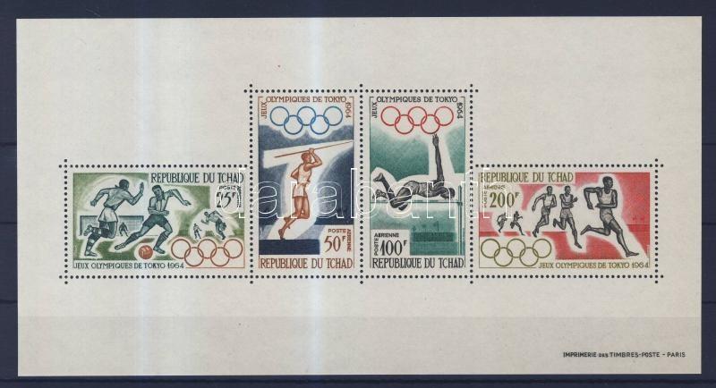 Tokyo Olympics block Tokiói olimpia blokk