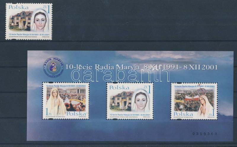 10 years of Radio Maryja block 10 éves a Radio Maryja blokk