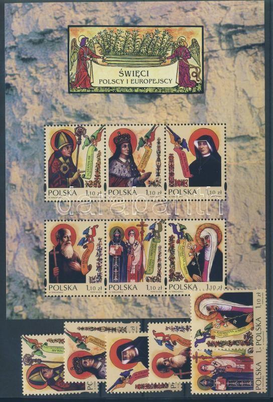 Európai szentek blokk European saints block
