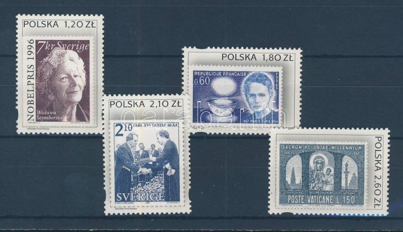 Lengyelek külföldön sor Poles abroad set