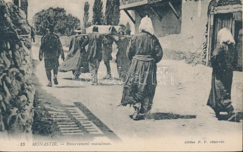 Bitola, Monastir; Muslim funeral