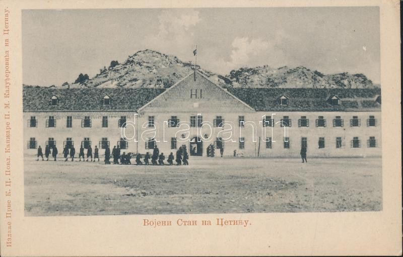 Cetinje military barracks