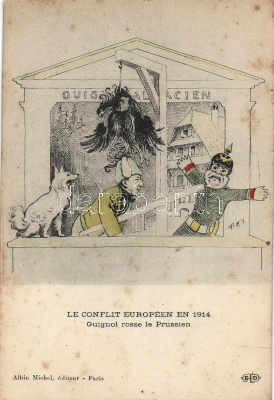 Első világháború, európai konfliktus, németellenes propaganda, Military WWI, European conflict, Anti-German propaganda