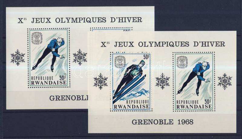 Téli olimpiai játékok, Grenoble blokk Winter Olympic Games, Grenoble block