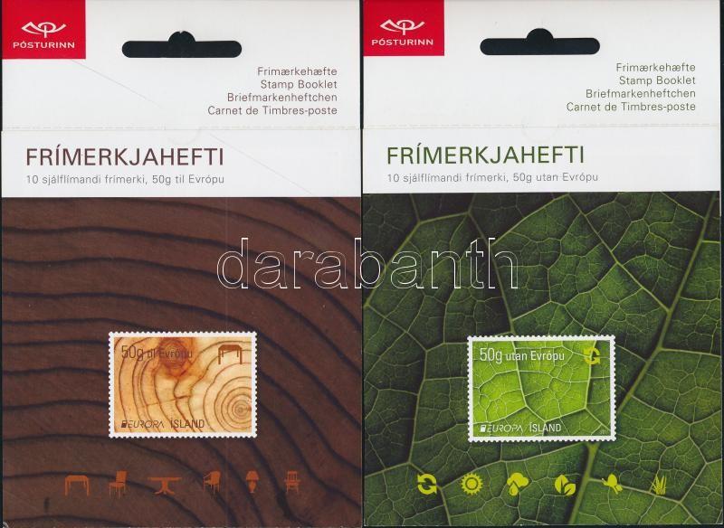 Europa CEPT Forest 2 stamp booklet Europa CEPT Erdők 2 bélyegfüzet