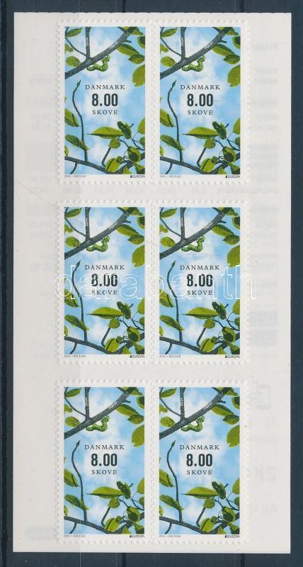 Europa CEPT Forest self-adhesive stamp booklet Europa CEPT Erdők öntapadós bélyegfüzet