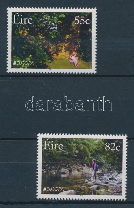 Europa CEPT Erdők sor + kisívpár Europa CEPT Forest set + mini-sheet pair