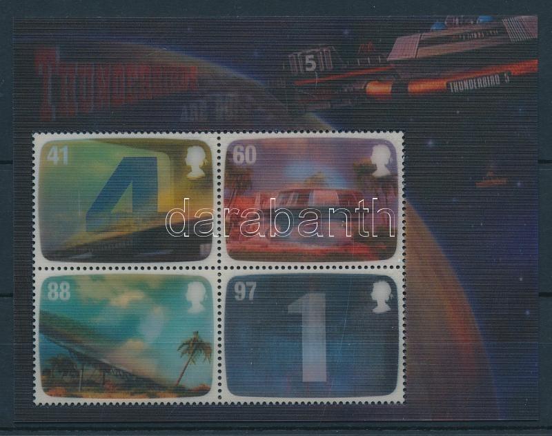 Gerry Anderson's sci-fi series 3D block Gerry Anderson sci-fi sorozatai 3D-s blokk