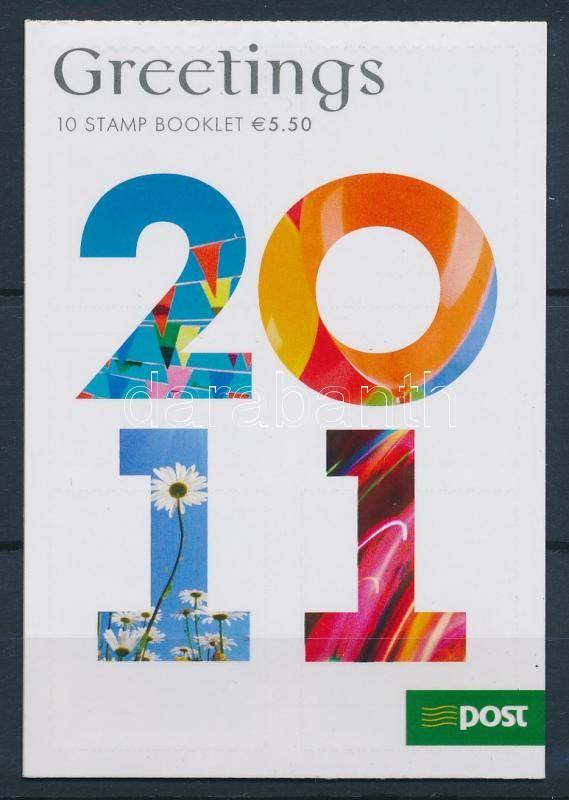 Greeting stamps self-adhesive stamp booklet Grußmarken selbstklebendes Markenheftchen Üdvözlőbélyegek öntapadós bélyegfüzet