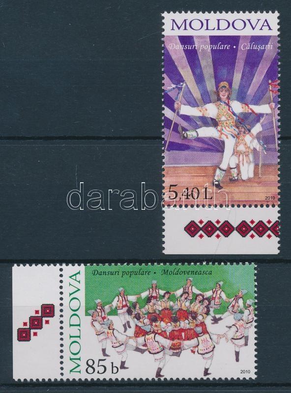 Néptáncok sor Folk Dance set