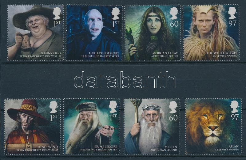 Fantasy irodalmi alakok sor Fantasy literary figures set