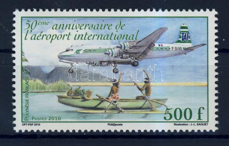 50 éves a nemzetközi repülőtér 50 Jahre internationaler Flughafen 50 years International airport