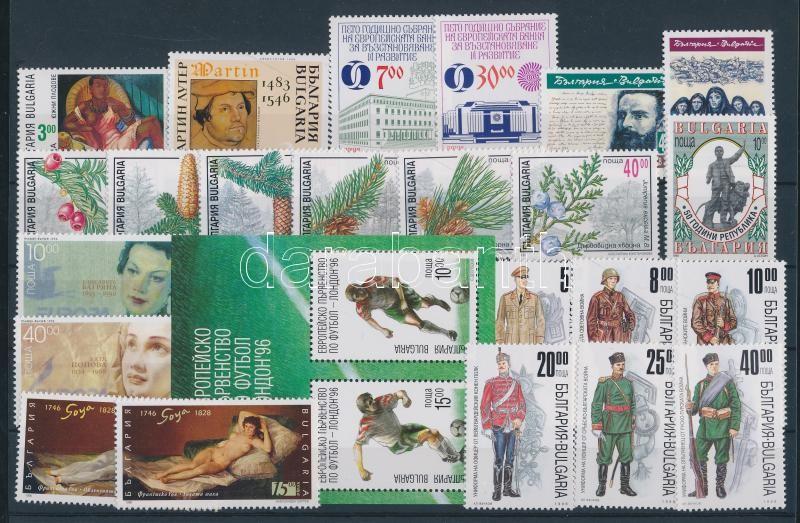 58 divers stamp in complete sets + 5 divers block 58 klf bélyeg teljes sorokban + 5 klf blokk 3 berakólapon