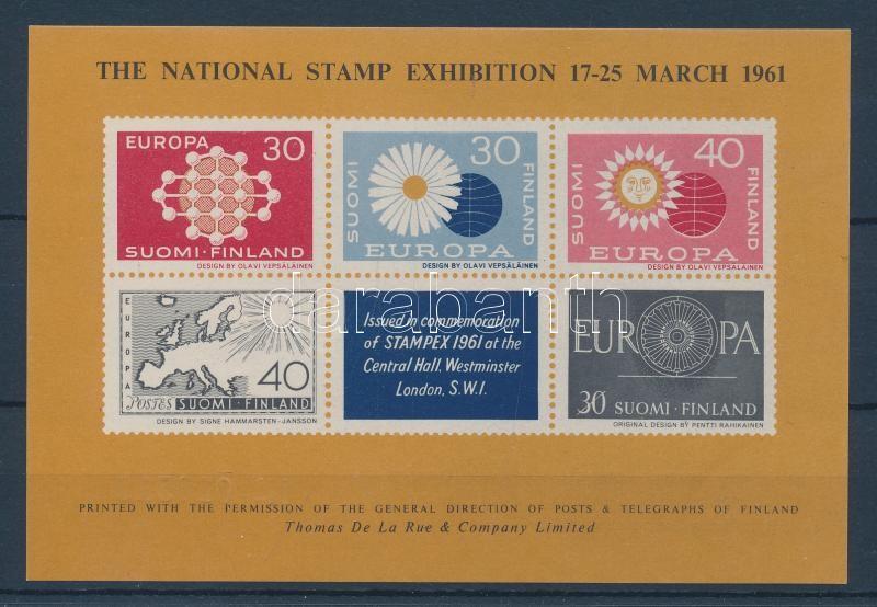 Nemzeti bélyegkiállítás emlékív International Stamp Exhibition private souvenir sheet
