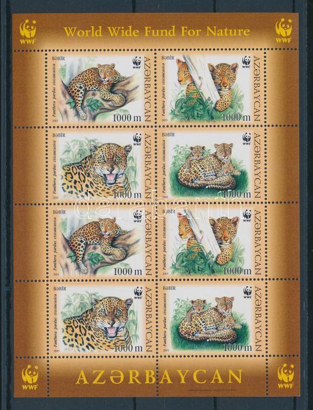 WWF: Kaukázusi leopárd kisív WWF: Caucasian leopard mini-sheet